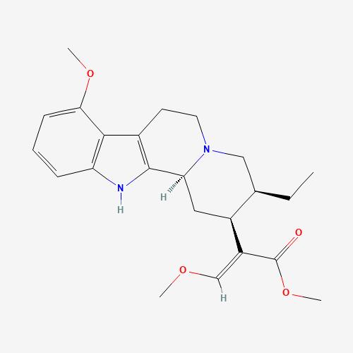 Molecular structure of Mytragynine