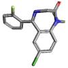 2-Oxoquazepam | C17H11ClF4N2O ...