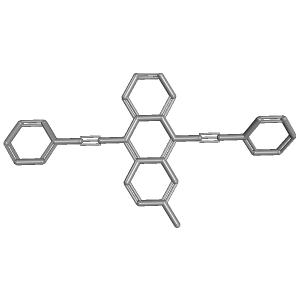 2 Methyl 910 Bis2 Phenylethynylanthracene 3D