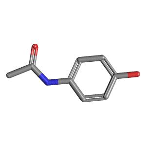 acetaminophen 3d structure