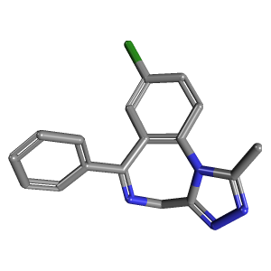 Alprazolam C17h13cln4 Pubchem