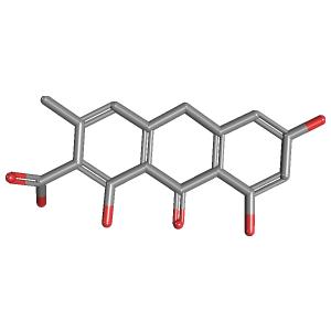 Endocrocin 9 Anthrone 3D Structure