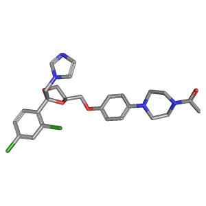 ketoconazole c26h28cl2n4o4 pubchem