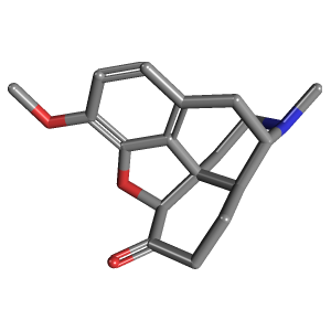 Hydrocodone c18h21no3 pubchem hydrocodone 3d structure publicscrutiny Image collections