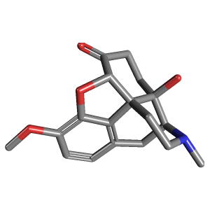 Oxycodone c18h21no4 pubchem oxycodone 3d structure publicscrutiny Image collections