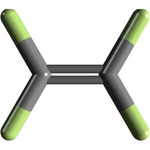 Tetrafluoroethene C2f4 Pubchem