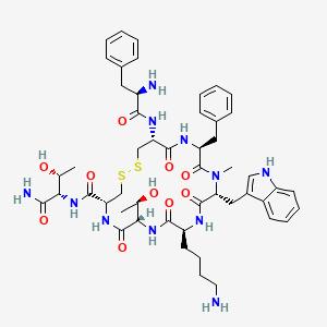 b19a371f099 4R,7S,10S,13R,16S,19R)-10-(4-Aminobutyl)-N-[(2S,3R)-1-amino-3 ...