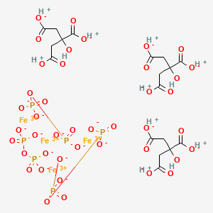 Ferric pyrophosphate citrate | C18H24Fe4O42P6 - PubChem