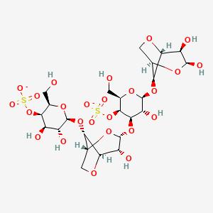 kappa-Carrageenan | C24H36O25S2-2 - PubChem