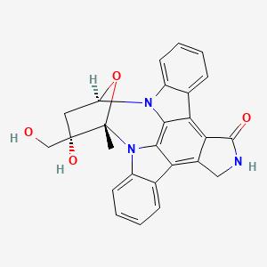Lestaurtinib   C26H21N3O4 - PubChem