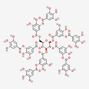 Tannic acid   C76H52O46 - PubChem