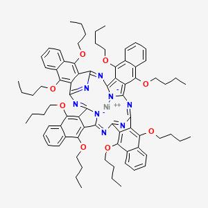 Nickel(II) 5,9,14,18,23,27,32,36-octabutoxy-2,3