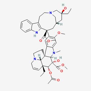 Vincaleukoblastine   C46H58N4O9 - PubChem