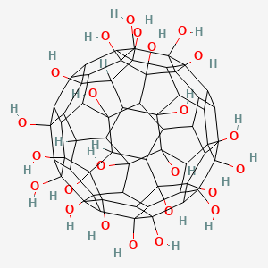 hydroxyl fullerene c60h60o24 pubchem