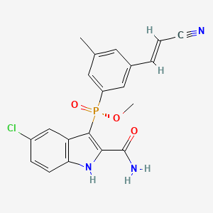 Image result for GSK2248761A , IDX899, Fosdevirine