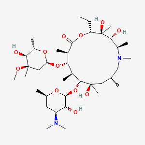Azithromycin | C38H72N2O12 - PubChem