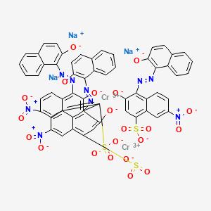 C I  Acid Black 52 | C60H30Cr2N9Na3O21S3 - PubChem