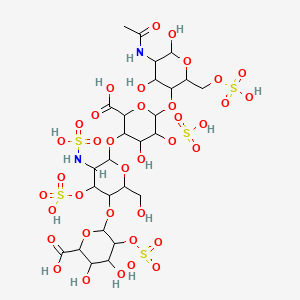 Heparin | C26H42N2O37S5 - PubChem