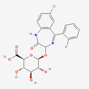 3-Hydroxy-N-desalkyl-2-oxoquaz...