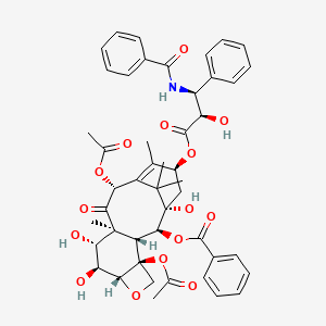Chemical structure for 6-hydroxytaxol