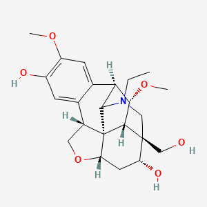 Chemical structure for CID 10895017