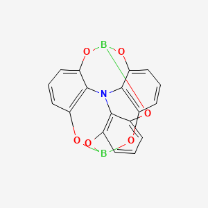 Chemical structure for CID 11187418