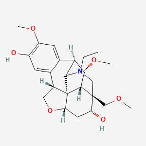 Chemical structure for CID 11407796