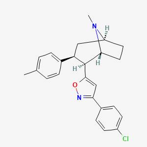 Chemical structure for CHEMBL1812742