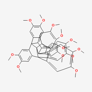Chemical structure for AGN-PC-00DUJO