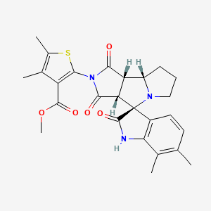 Chemical structure for SMR000220716