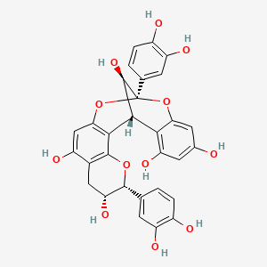 Chemical structure for proanthocyanidin A2