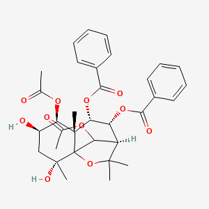 Chemical structure for triptofordin C 2