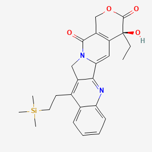 Chemical structure for cositecan