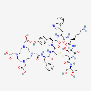 Chemical structure for Edotreotide