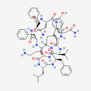 Chemical structure for Tyrocidine