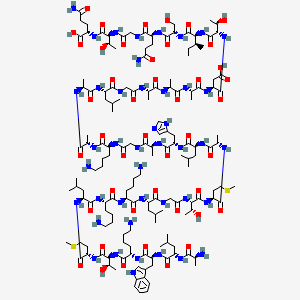 Chemical structure for dermaseptin