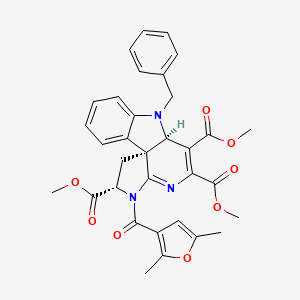 Chemical structure for MLS000829675