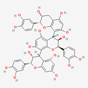 Chemical structure for Procyanidin C1