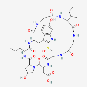Chemical structure for Amanullinic acid