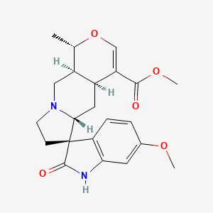 Chemical structure for Vineridin
