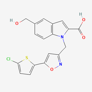 Chemical structure for AGN-PC-03OOCW