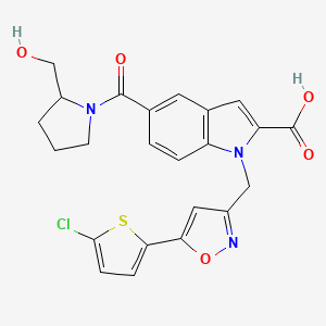 Chemical structure for AGN-PC-03Y9AP