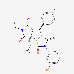 Chemical structure for MLS001075048