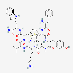 Chemical structure for AGN-PC-048LKG