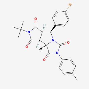 Chemical structure for MLS001075013