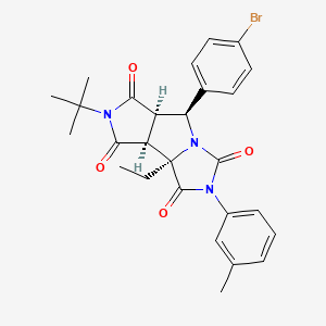 Chemical structure for SMR000471076