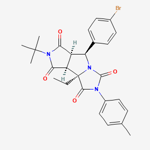 Chemical structure for MLS001074974