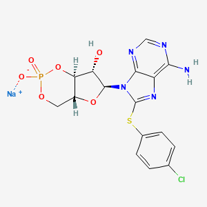 Chemical structure for NCGC00093721-01