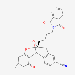 Chemical structure for NCGC00181555-01
