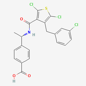 Chemical structure for CHEMBL599052
